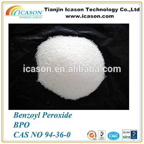 filler hardener benzoyl peroxide industrial initiator