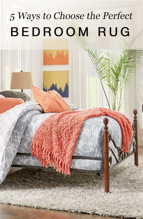 how to choose an area rug 5 ways to choose the perfect bedroom rug overstock com