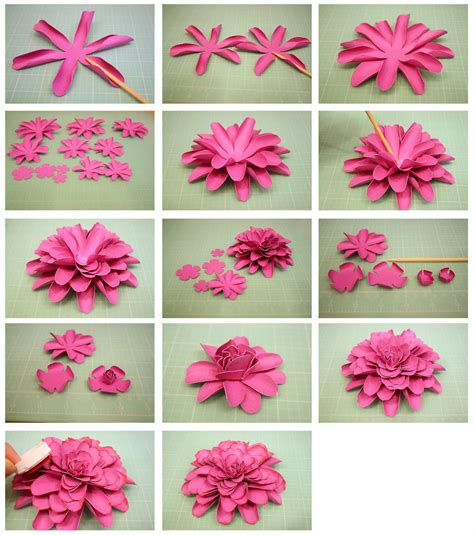 Flowers With Papers -