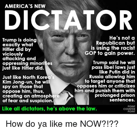 The Dictator Memes - middleboro review politics dictator trump slams really
