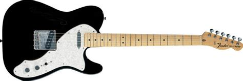 Fender 69 Telecaster Thinline Mn 3clrsb Electric Guitar fender classic series 69 telecaster thinline maple fingerboard black mcquade musical