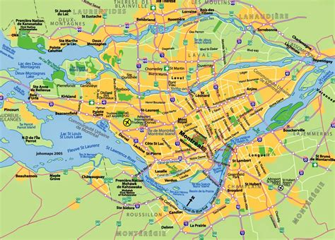 printable map montreal map of montreal quebec free printable maps