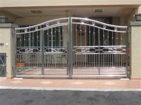 Jasa Pembuatan Pintu Pagar Stainless Steel Harga Murah