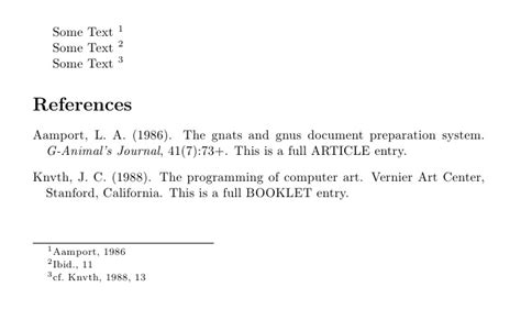 footnote format same source bibliographies apa style bibliography with author year
