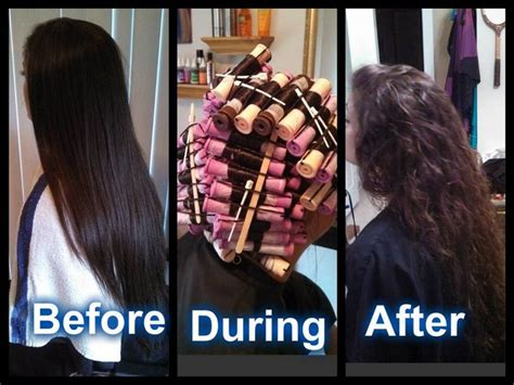 texture perms before and after bringing back the body wave after years of straightening