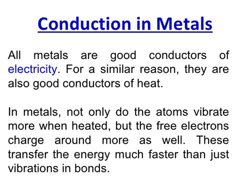 what do electrical conductors do conduction lesson 2