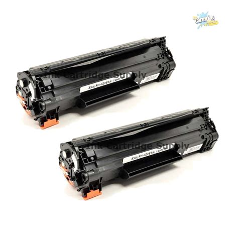 Toner Laserjet 85a 2pk ce285a 85a black toner cartridge for hp laserjet