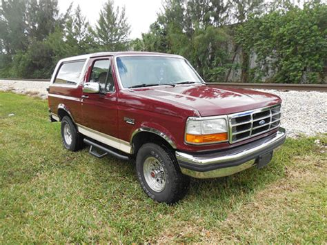 automotive air conditioning repair 1992 ford bronco seat position control 1992 ford bronco 4x4 eddie bauer very clean collectors condition 25 pic