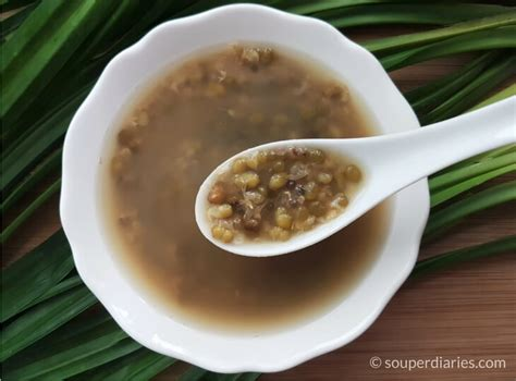 Detox Mung Bean Soup Recipe by Mung Bean Soup Detox