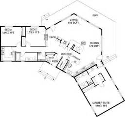 V Shaped Ranch House Plans Click To View House Plan Main