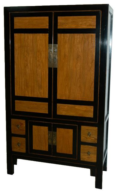 asian armoires black and burl cabinet asian armoires and wardrobes
