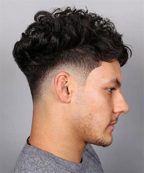 single level haircut with tapered ends the most popular taper haircut curly hair in 2018