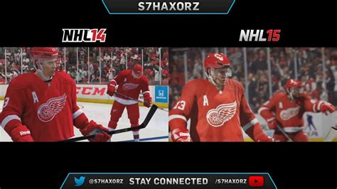 reset online stats nhl 15 nhl 15 e3 trailer graphics comparison youtube