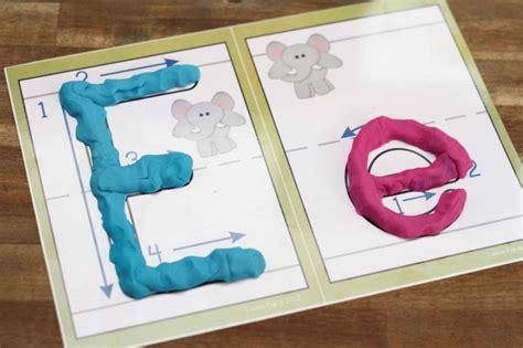 preschool letter e in world
