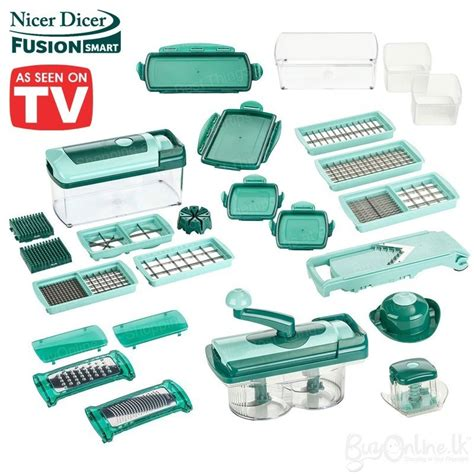 Buy Kitchen Island by Genius Nicer Dicer Fusion Combo 31 Pcs Set