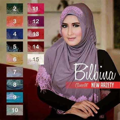 Jilbab Instan Syar I model jilbab instan syar i bilbina modern terbaru