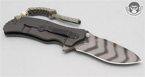 zt knife zero tolerance knives model 0301 folding knife