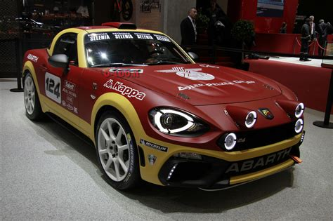Rally Auto 0 100 by Speciale Ginevra 2016 Lo Stand Abarth 0 100 It