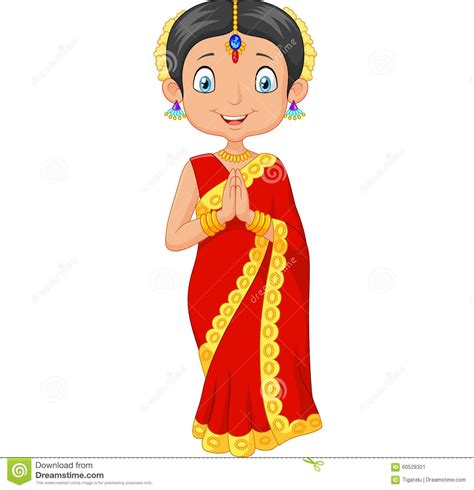Etnic Dress5 9 traditional clipart indian dress pencil and in color