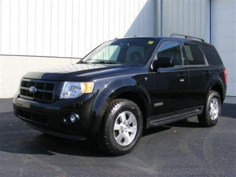 2008 ford escape specs 2008 ford escape limited 4wd data info and specs