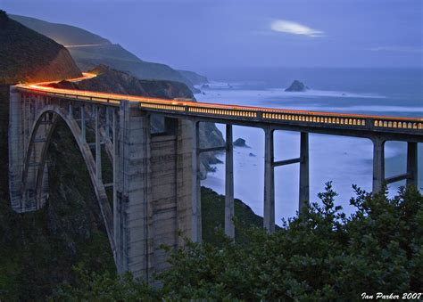 Pch Bridge - evanescent light roads