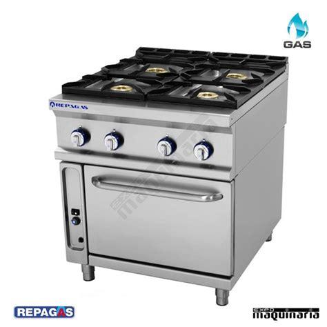 cocinas industrial cocina industrial repagas rgcg741 4 quemadores gas y horno