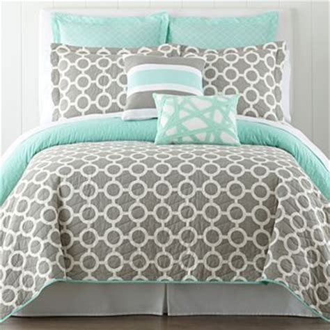 mint green and grey bedding pin by ronda on aqua with grey or black pinterest