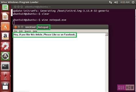 installing xp on ubuntu via terminal install wine ubuntu using terminal on mac