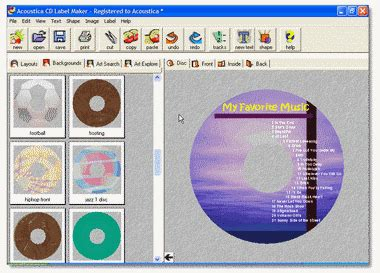 How To Make A Cd Cover Out Of Paper - cd label maker software cd label creator