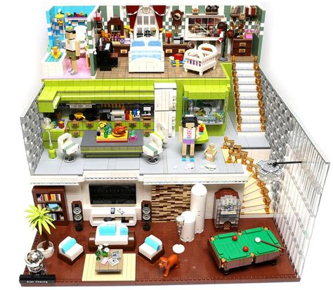 the house that legos built this is the house that alanboar built the brothers brick
