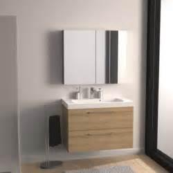 meuble de salle de bains remix imitation ch 234 ne 91x48 5 cm
