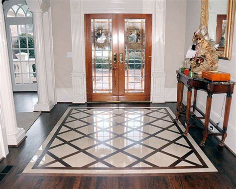 Foyer Flooring Ideas | entry floor tile designs gurus floor