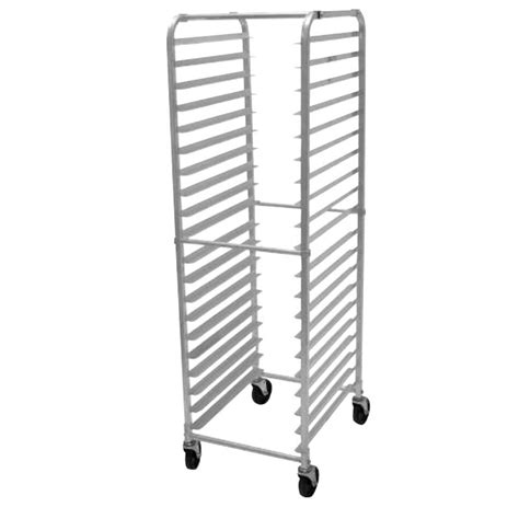 Front Rack Hold by Advance Tabco Pr20 3k X Mobile Front Load Aluminum Pan