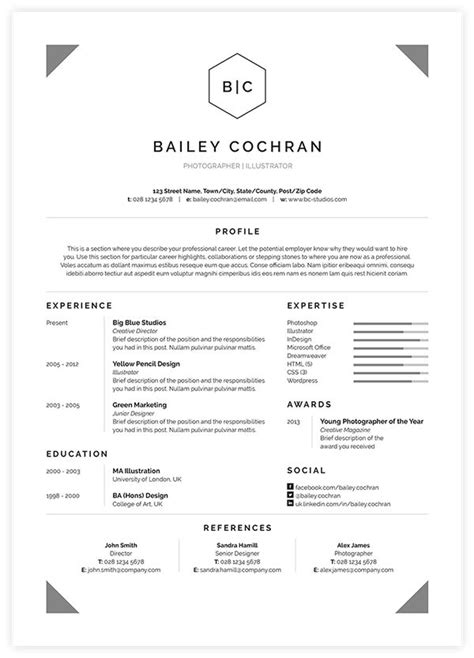 17 best images about resume on cool resumes