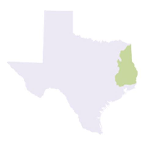 piney woods texas map texas invasives
