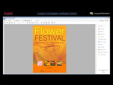 free layout software canon how to print using the canon imageprograf free layout tool
