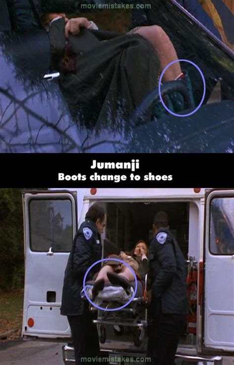 jumanji movie mistakes jumanji movie mistake picture 15