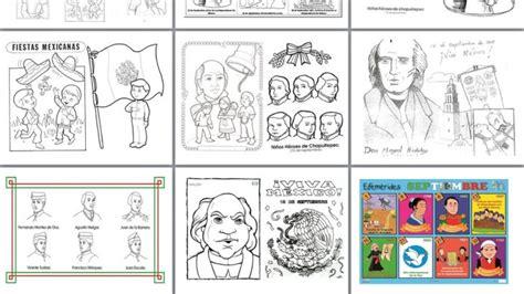 imagenes escolares del mes de septiembre dibujos de efem 233 rides del mes de septiembre para colorear