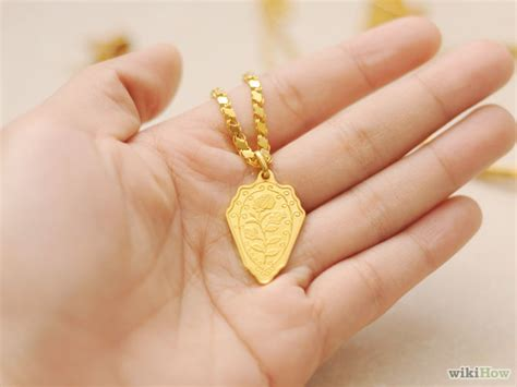 buy gold for jewelry how to buy gold jewelry 6 steps with pictures wikihow
