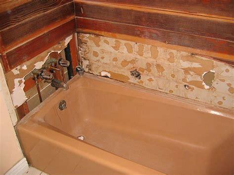 tiling a bathtub surround new backerboard