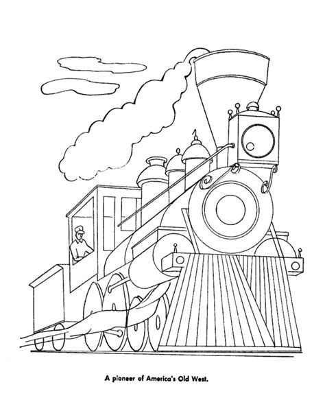 diesel trains coloring pages