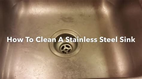 how to disinfect stainless steel kitchen sink how to clean a stainless steel sink clean polish and