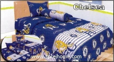 Sprei Bed Cover Katun 160x200x20 Chelsea 1 sprei manchester united sprei dan bedcover