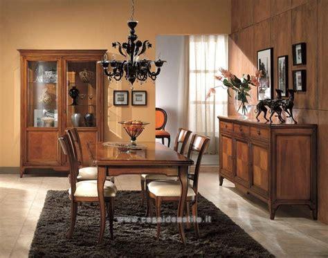sala da pranzo classica sala da pranzo classica finitura ciliegio sedie