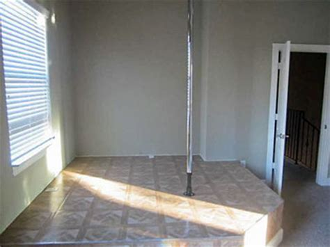 stripper pole in bedroom houston home listing photo of the day bedroom practice