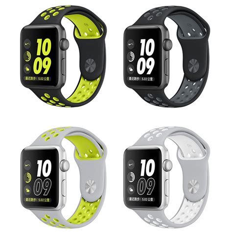 Sport Silicone Band Nike Series For Apple 42mm Nike Series New 3 for apple nike series 2 new silicone sports