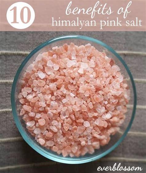 pink himalayan salt l benefits 10 amazing benefits of himalayan pink salt himalayan