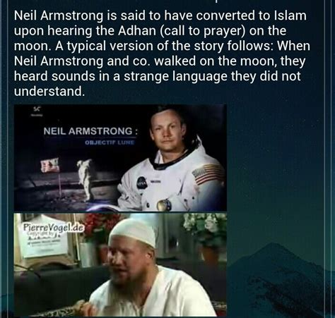 what are muslim prayer called neil amstrong become converted after hearing adhan call