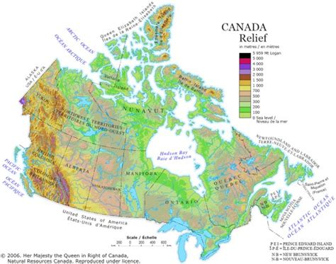 political map of canada and usa maps of canada provinces political and territories