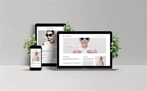 White Floating Desk by Responsive Web Design Showcase Mockup Mockupworld